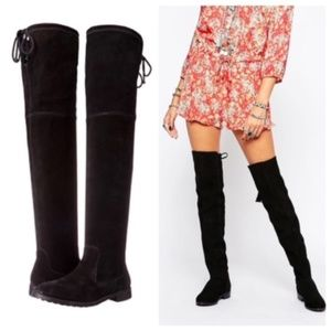 Aldo Barra Flat Over the Knee Boots Size 6